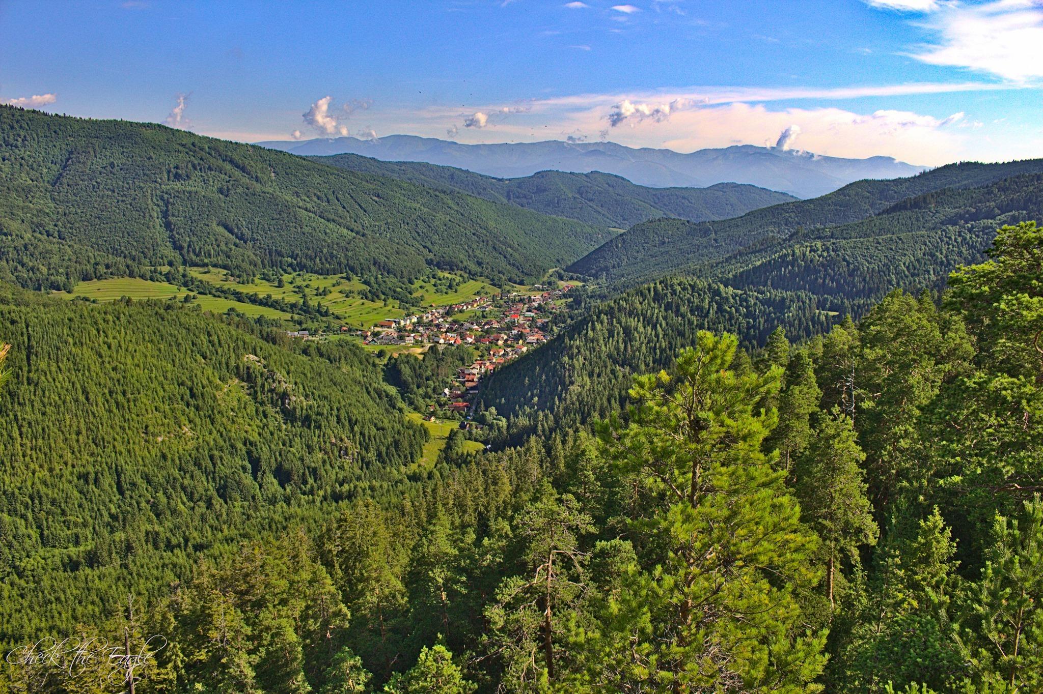 Veporské vrchy: Štompova skala (890 m n. m.) – jedinečná vyhliadka na Horehron